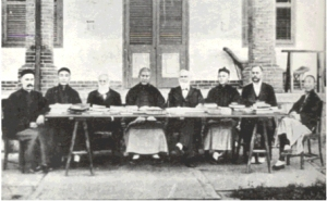 19th Century Missionaries in China.  http://www.shanghaiguide.org/Walter-Henry-Mednurst-and-Holy-Bible-Translat-4419.html