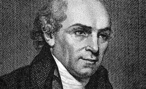 William Carey.  1761-1834 Widely considered the father of modern missions.